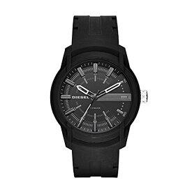 ディーゼル 時計 メンズ 腕時計 ARMBAR アームバー 45mm オールブラック シリコン DZ1830 ビジネス 男性 ブランド 誕生日 お祝い プレゼント ギフト