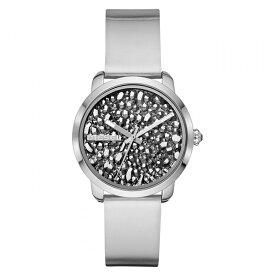 【キャッシュレス5%還元 】日本未発売 ディーゼル 時計 レディース 腕時計 FLARE ROCKS ロック シルバ1 銀色 メタリックレザー DZ5582 ビジネス 女性 ブランド プレゼント 誕生日 お祝い プレゼント ギフト