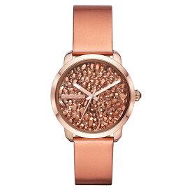 ディーゼル 時計 レディース 腕時計 FLARE ROCKS フレア ロック ローズゴールド メタリックレザー DZ5583 ビジネス 女性 ブランド プレゼント【仕事用】 誕生日 お祝い プレゼント ギフト お洒落