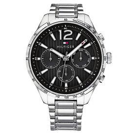 トミーヒルフィガー 腕時計 メンズ GAVIN マルチファンクション 44mm シルバー ステンレス 1791469 ビジネス 男性 ブランド 時計 誕生日 お祝い プレゼント ギフト お洒落