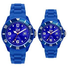 アイスウォッチ 腕時計 ペアウォッチ アイスフォーエバー ブルー SI.BE.U.S.09SI.BE.S.S.09 ブランド 男女 カップル ペアセット 誕生日 お祝い プレゼント ギフト お洒落