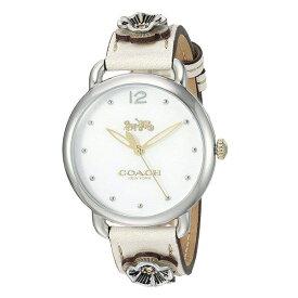 87a9c5c6228a コーチ 時計 レディース 腕時計 DELANCY デランシー 花柄 ゴールド オフホワイト レザー 14503079 ビジネス 女性 ブランド