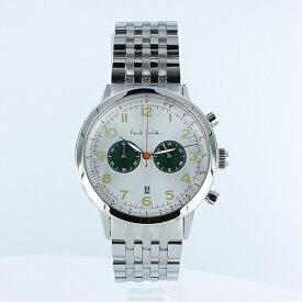 ポールスミス 時計 メンズ 腕時計 Precision クロノグラフ シルバー ステンレス P10016 ビジネス 男性 ブランド 時計 誕生日 お祝い プレゼント ギフト お洒落