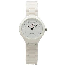2c4f839a84 テクノス 時計 レディース 腕時計 白 ホワイト セラミック T6879TW ビジネス カップル 女性 時計 誕生日 お祝い プレゼント
