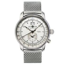 ツェッペリン 時計 メンズ 腕時計 100周年記念モデル シルバー メッシュ シルバー ケース 7640M-1 ビジネス 男性 ブランド 【仕事用】 誕生日 お祝い プレゼント ギフト お洒落