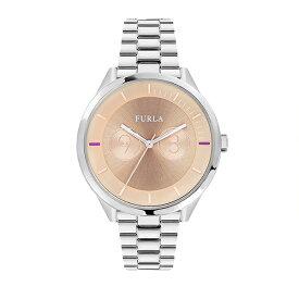 フルラ レディース 腕時計 メトロポリス 38mm ローズゴールド文字盤 シルバー ステンレス R4253102505 ビジネス 女性 ブランド 時計 誕生日 お祝い プレゼント ギフト お洒落