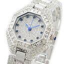 ルイラセール 時計 レディース 腕時計 天然サファイア シルバー ステンレス LL08SV-S ビジネス 女性 ブランド 時計 誕生日 お祝い プレゼント ギフト お洒落