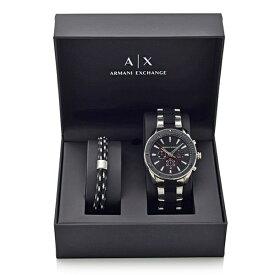選べる5タイプ アルマーニエクスチェンジ 腕時計 メンズ アクセサリーセット メンズ 腕時計&アクセサリーセット スペシャルボックス 専用BOX ギフト 父親 お父さん 旦那 夫 兄弟 息子 お祝い 誕生日
