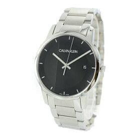 CALVIN KLEIN カルバンクライン CK スイス製 時計 メンズ 腕時計 City シティ 43ミリ ブラック シルバー ステンレス K2G2G14Y ビジネス 男性 ブランド プレゼント 誕生日 お祝い プレゼント ギフト