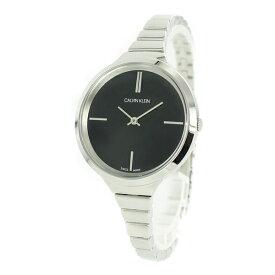 カルバンクライン CK スイス製 時計 レディース 腕時計 Lively ブラック シルバー ステンレス シンプル 細身 K4U23121 ビジネス パーティー フォーマル 女性 女友達 彼女が喜ぶ ブランド 誕生日 お祝い プレゼント ギフト