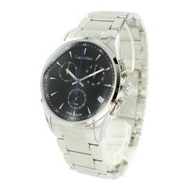 カルバンクライン CK 時計 メンズ 時計 彼氏が喜ぶ クロノグラフ ブラック  K5A27141 毎日使える 仕事用 男性 男友達 誕生日 記念日 お祝い ギフト