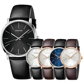 当店 メンズ 腕時計 ランキング 10位 シンプル おしゃれ かっこいい 選べる5モデル 腕時計 メンズ カルバンクライン スイス製 時計 ハイヌーン レトロモダン レザー