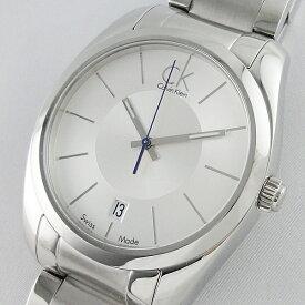 【Rakuten Fashion THE SALE 10%OFF】Calvin Klein カルバンクライン 腕時計 メンズ ストライブ シルバー ブレスレット K0K21120