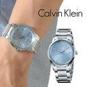 【限定セール!】カルバンクライン 時計 メンズ 腕時計 bold ボールド ライトブルー文字盤 シルバー ステンレス K5A31…
