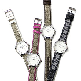 当店 レディース 腕時計 ランキング 9位 誕生日 おすすめ COACH コーチ 時計 革 レザー シグネチャー デザイン レザー こーち 女性用 とけい 誕生日 プレゼント 卒業 入学 社会人 成人 彼女 妻 嫁 娘 姪っ子 女友達 送り物 お祝い
