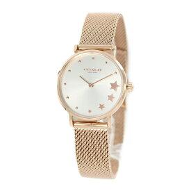 【アウトレット品の為、お値引き 値下げ】COACH コーチ 時計 レディース 腕時計 PERRY ピンクゴールド こーち 可愛い 小ぶり 小さめ メッシュ 14503520 ビジネス 女性 ブランド 誕生日 お祝い プレゼント ギフト