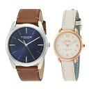 【キャッシュレス5%還元】【ペア収納ケース付】COACH コーチ ペアウォッチ 腕時計 メンズ レディース シンプル ブルー…