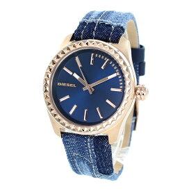 当店 レディース 腕時計 ランキング 4位 ディーゼル 時計 メンズ レディース メタリックブルー デニムベルト ピンクゴールド DZ5510 誕生日 お祝い ギフト