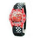 腕時計 子供用 Disney Kids ディズニー キッズ カーズ レッド ブラック マジックベルト W001679 誕生日 お祝い 入園 …