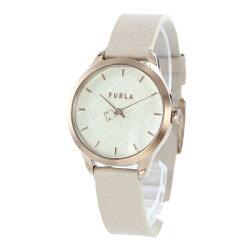 フルラ時計レディース腕時計Shieldシールドピンクゴールドホワイトライトピンクレザー革R4251131502