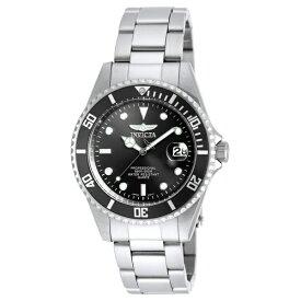 無料特典付き! インヴィクタ インビクタ 時計 メンズ 腕時計 プロダイバー ブラック文字盤 シルバー ステンレス 8932OB ビジネス 男性 ブランド 誕生日 お祝い プレゼント ギフト お洒落