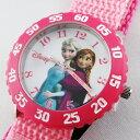 再入荷 Disney Kids ディズニー キッズ 腕時計 アナと雪の女王 アナ エルサ ピンク W000969 誕生日 お祝い プレゼント…
