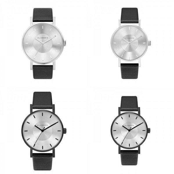 KLASSE14 クラス14 時計 メンズ レディース 腕時計 Volare シルバー ブラック最高級レザー 42mm 36mm VO14SR001 VO14BK001【バイヤーおすすめ】 誕生日 お祝い プレゼント ギフト お洒落