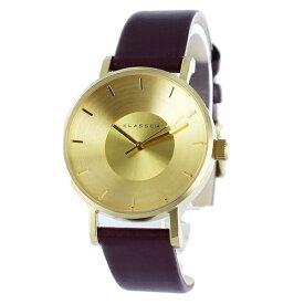 KLASSE14 クラス14 時計 レディース 腕時計 ヴォラーレ 36mm ゴールド バーガンディ レザー VO16IR022W
