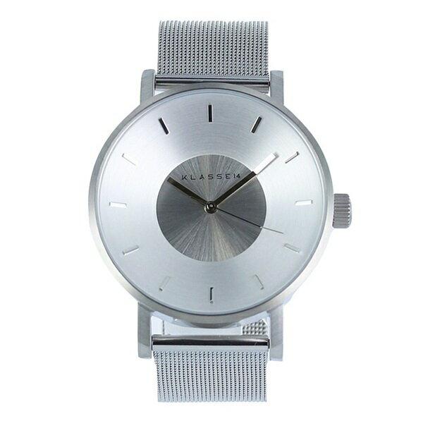 KLASSE14 クラス14 時計 メンズ レディース 腕時計 Volare シルバー メッシュブレスレット 42mm VO14SR002M ビジネス 男性 ブランド 【仕事用】 誕生日 お祝い プレゼント ギフト お洒落