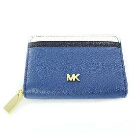 MICHAEL KORS マイケルコース レディース 財布 コインケース 小銭入れ カードケース 小さい財布 ブルー レザー 革 32F8GF6Z1T 415 誕生日 お祝い ギフト