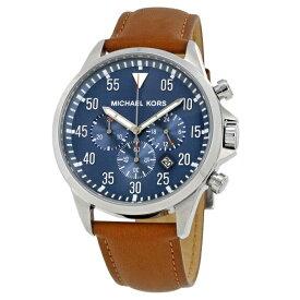 マイケルコース 時計 メンズ 腕時計 ガージュ クロノグラフ ブラウン レザー MK8362 ビジネス 男性 誕生日 お祝い ギフト