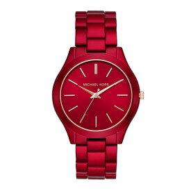 マイケルコース 時計 メンズ レディース ユニセックス 男女兼用 腕時計 Runway ランウェイ ピンクゴールド レッド ステンレス MK3895