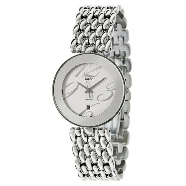 ラドー 時計 メンズ 腕時計 フローレンス シルバー ステンレス R48742143 ビジネス 男性 ブランド プレゼント 誕生日 お祝い クリスマスプレゼント ギフト お洒落