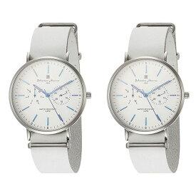 国内正規品 ペア腕時計 ボックス付き サルバトーレマーラ 時計 ペアウォッチ SM15117-SSWHBLSM15117-SSWHBL ビジネス 男女 ペアセット カップル ブランド 時計 誕生日 お祝い プレゼント ギフト