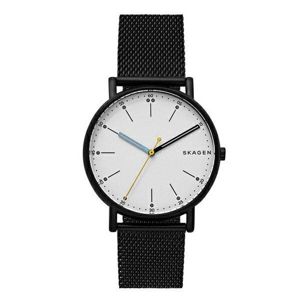 スカーゲン 時計 メンズ 腕時計 シグネチャー ブラック ステンレス SKW6376 ビジネス 男性 ブランド 誕生日 お祝い クリスマスプレゼント ギフト お洒落