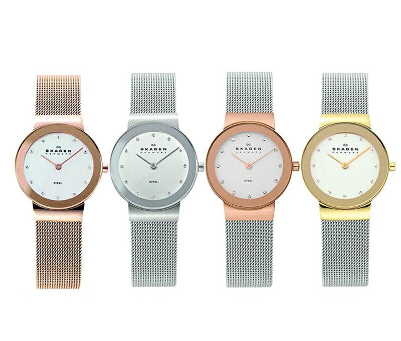 スカーゲン 時計 レディース 腕時計 スリム スワロフスキー 選べる4カラー 4color ビジネス 女性 ブランド 時計 誕生日 お祝い プレゼント ギフト お洒落