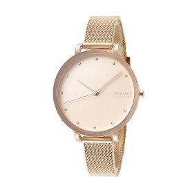 スカーゲン 時計 レディース 北欧 腕時計 Hagen ハーゲン 34ミリ ピンクゴールド メッシュ ステンレス SKW7205 ビジネス 女性 ブランド 時計 誕生日 お祝い プレゼント ギフト