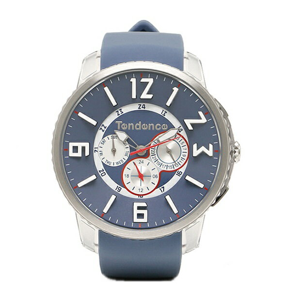テンデンス 時計 メンズ レディース ユニセックス 腕時計 スリム ポップ デイカレンダー ブルー TG165001 男性 ブランド 時計 誕生日 お祝い クリスマスプレゼント ギフト お洒落