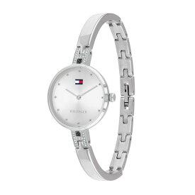 トミーヒルフィガー 時計 レディース 腕時計 Kit キット 26ミリ シルバー ステンレス 細身ベルト クリスタル 1782137 ビジネス 女性 ブランド 時計 誕生日 お祝い プレゼント ギフト