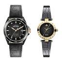 ヴィヴィアン ウエストウッド 時計 ペアウォッチ ブラック レザー VV181RSBKVV092BKBK ペアセット カップル ブランド …