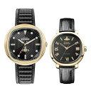 【ペアBOX付き】ヴィヴィアン ウエストウッド 腕時計 ペアウォッチ メンズ レディース ゴールド ブラック 革ベルト VV…
