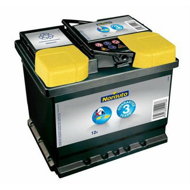 11 Norauto brand battery H5/L2 60Ah 540CCA 互換:BOSCH PSI PSIN-6C[フランス製][廃バッテリー無料回収]
