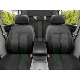 シートカバー 全席セット 後部座席 運転席 助手席 車 シート保護 ヘッドレスト保護 サイドエアバッグ対応 内装 素材 パーツ ブラック