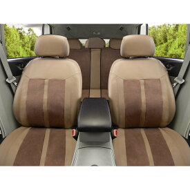シートカバー 全席セット 後部座席 運転席 助手席 車 シート保護 ヘッドレスト保護 サイドエアバッグ対応 内装 素材 パーツ ベージュ