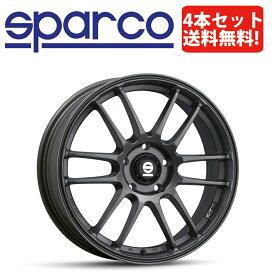 SPARCO TARMAC(スパルコ ターマック)18インチ×8.0J 5H-100 +48 4本セット ガンメタル【86,BRZ他】