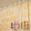 アコーディオンカーテン おしゃれ 薔薇 つっぱり 間仕切り 断熱 厚手 パタパタ カチオンバラ 250cm丈 全2色