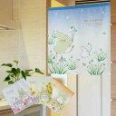 のれん トトロ タペストリー 可愛い 季節の花とトトロ 幅85cm 丈90cm 全4種類