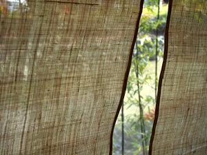 【のれん(暖簾)】麻無地のれん生成り90cm丈おしゃれナチュラル素材【国産麻和風のれん暖簾贈り物日本製アジアンお祝い父の日のギフト】