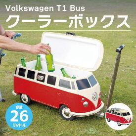 クーラーボックス フォルクスワーゲンT1バス型 Volkswagen T1 Bus アウトドア キャンプ BBQ