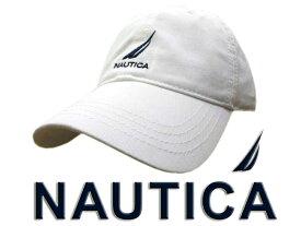 『キャップ cap』 ノーティカ (NAUTICA)メンズキャップ レディースキャップ メンズ レディース 帽子 男性 女性 ロゴ 白 ホワイト シンプル おしゃれ ブランド スポーツ レジャー ゴルフ プレゼント 贈り物 ギフト 誕生日 【送料無料】